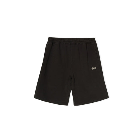 STUSSY Stock Fleece Short (Black)