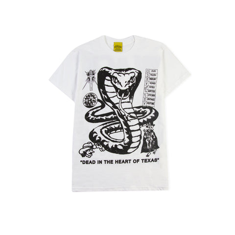 UDLI EDITIONS x BLACK MARKET Dead in the Heart of Texas Tee (White)