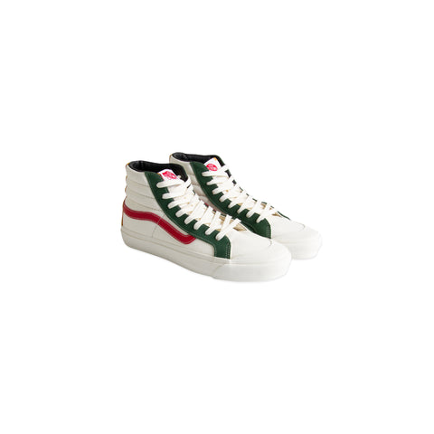 VANS VAULT OG Style 138 LX Suede/Canvas (Marshmallow/Multi)