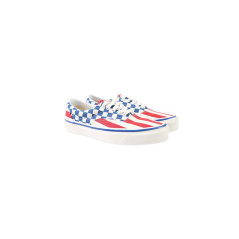 VANS Anaheim Factory Era 95 DX (OG Red Stripes/OG Blue Check)