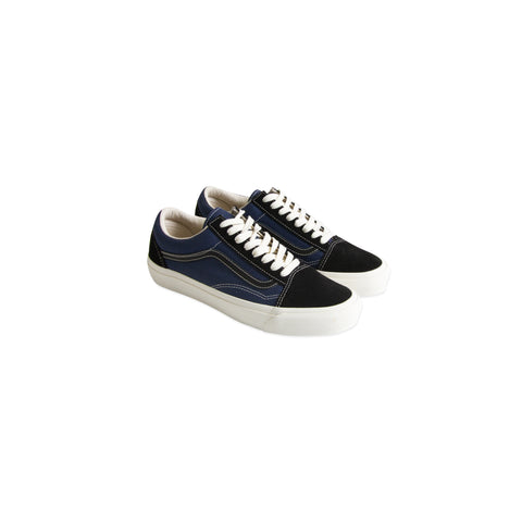 VANS VAULT OG Old Skool LX Suede/Canvas (Black/Insignia Blue)