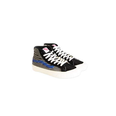 VANS VAULT Comfy Cush Style 138 LX Suede/Canvas (Black/Checkerboard)