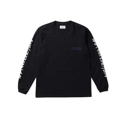 WACKO MARIA Max Romeo Type-3 Long-Sleeve Tee (Black)