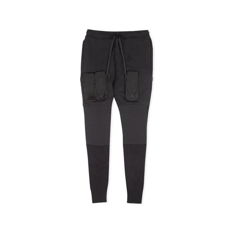1017 ALYX 9SM Detachable Pocket Ribbed Sweatpant (Black)