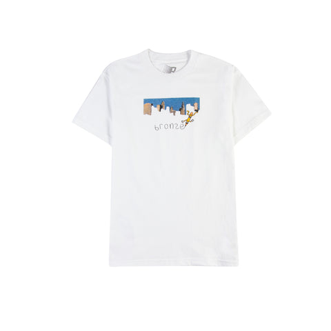 BRONZE 56K Pencil Tee (White)