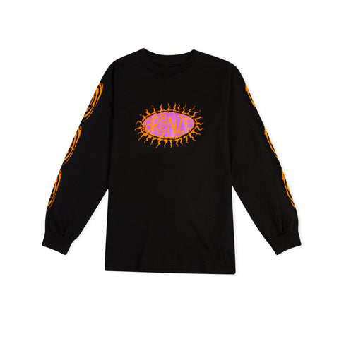 BRONZE 56K Surfer Long-Sleeve Tee (Black)