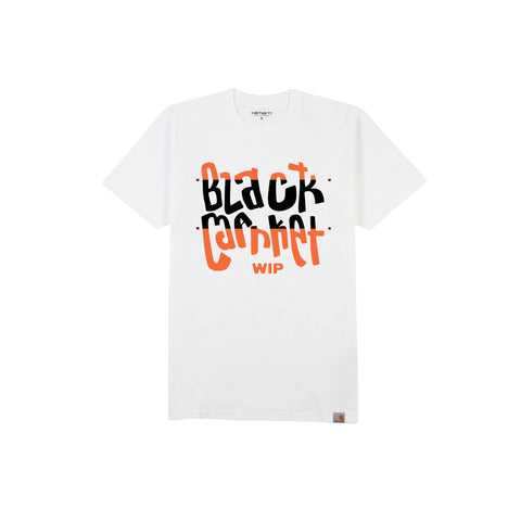 CARHARTT WIP x BLACK MARKET USA Come Together Tee (White)