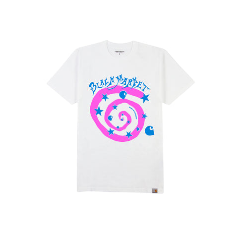 CARHARTT WIP x BLACK MARKET USA Work In Progress Tee (White)