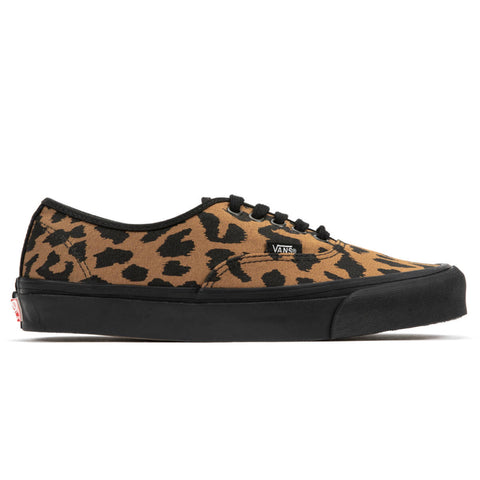 VANS VAULT OG Authentic LX Canvas/Suede (Leopard/Black)