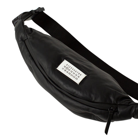 MAISON MARGIELA Glam Slam Belt Bag (Black)