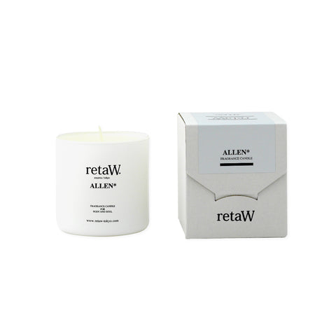 RETAW Fragrance Candle (Allen/White)