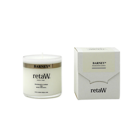 RETAW Fragrance Candle (Barney/Clear)
