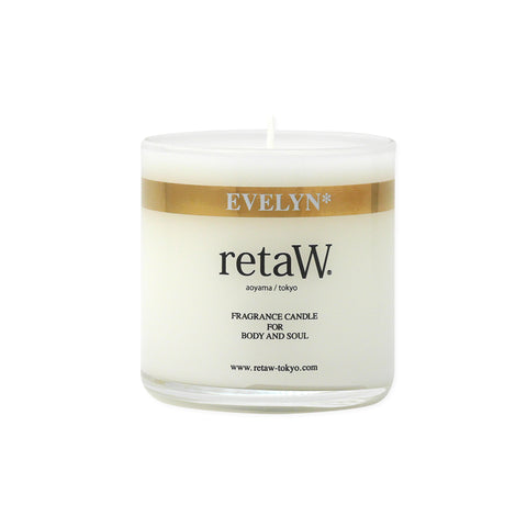 RETAW Fragrance Candle (Evelyn/Clear)