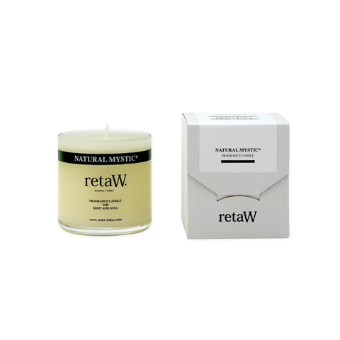 RETAW Fragrance Candle (Natural Mystic/Clear)