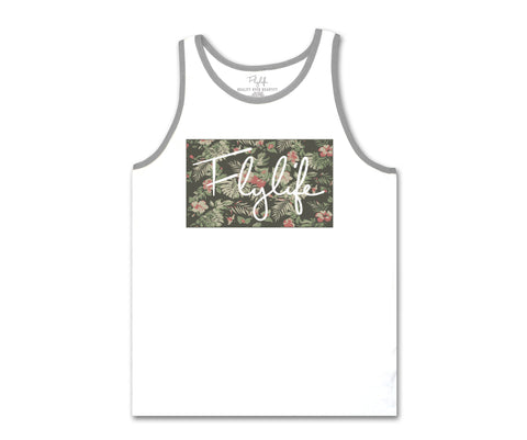 Tropical Sig Tank White
