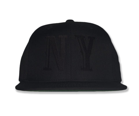 Primo NY 6 Panel Black on Black
