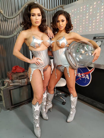 BTS with our Asstronauts CJ Sparxx & Gwen Singer