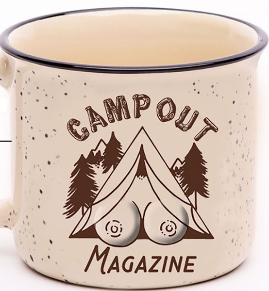 3D Boobie Campout Mug -Available for Preorder!