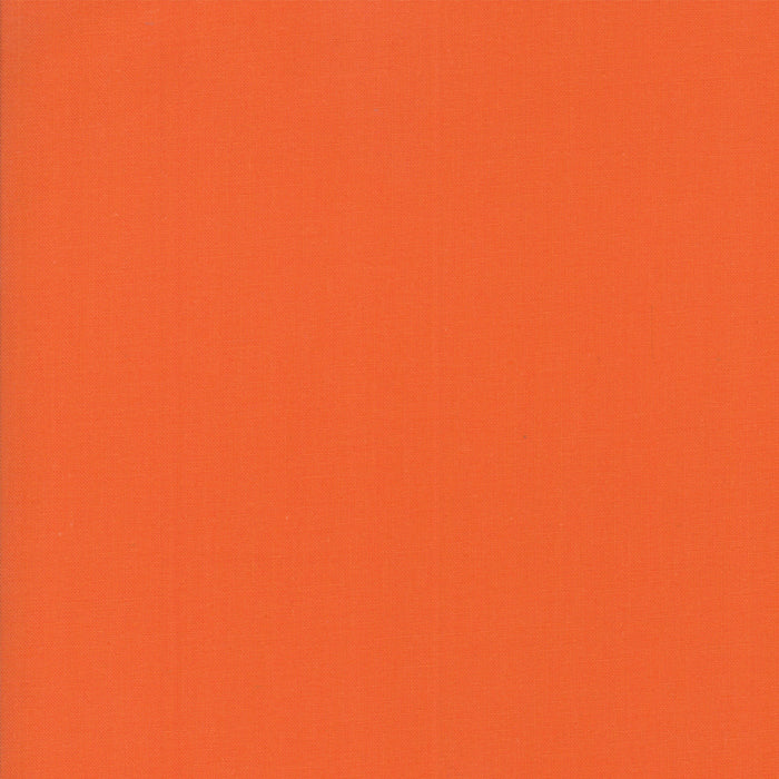 Bella Solids 100% Cotton Fabric -Clementine PRICE PER 1/4 YARD