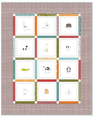 Duck Duck Moo Baby Quilt Pattern by Sweetwater for