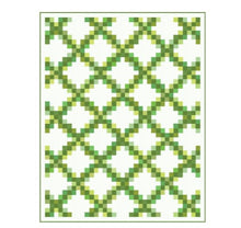 Load image into Gallery viewer, Moda Bella Solids Cotton Fat Quarter Bundle: Green with free quilt pattern