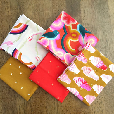 Social and Spark Fat Quarter Bundle by Melody Miller - Ruby Star Society #3