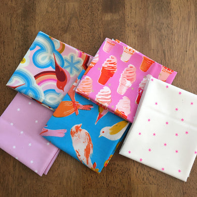 Social and Spark Fat Quarter Bundle by Melody Miller - Ruby Star Society #4