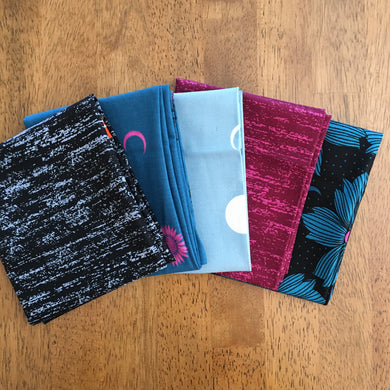 Crescent and Brushed Mixed Fat Quarter Bundle by Sarah Watts - Ruby Star Society #4