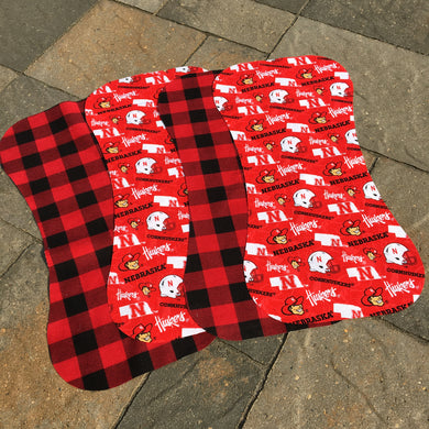 Baby Gift - Precut Husker Baby Burp Cloths for Sewing