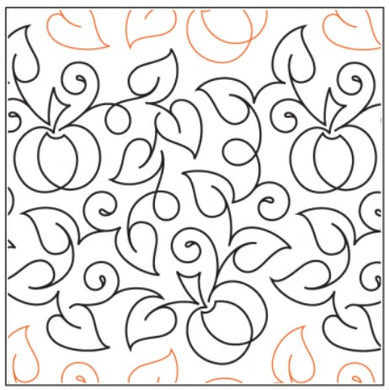 Edge-to-Edge Quilting Service - Meandering Pumpkin Patch