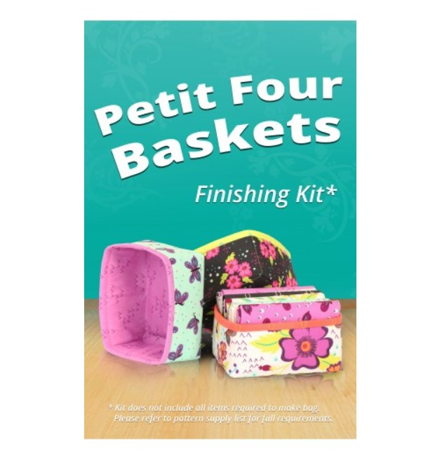 Petit Four Baskets Pattern and Finishing Kit - byAnnie