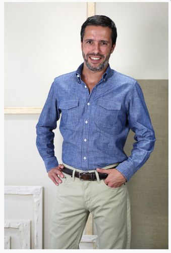 Men's All Day Shirt Paper Sewing Pattern by Liesl + Co