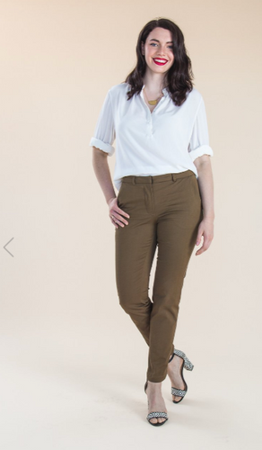 Sasha Trousers Paper Sewing Pattern by Closet Case