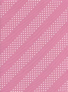 Dottie Peacock Pink - Cotton and Steel Fabric