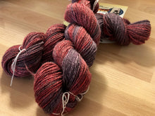 "Load image into Gallery viewer, ""Strawberry Grape Silverton"" Yarn"
