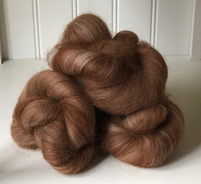 Alpaca/Polwarth Batt Knots (Sarge), 1 oz.