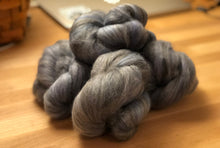 "Load image into Gallery viewer, ""Silverton's Blue Lagoon"" Batt Knots, 1 oz."