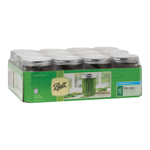 Ball Canning Pint Wide Mouth Can - Case Of 1 - 12 Count