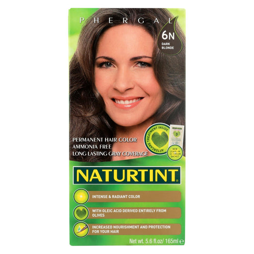 Naturtint Hair Color - Permanent - 6n - Dark Blonde - 5.28 Oz