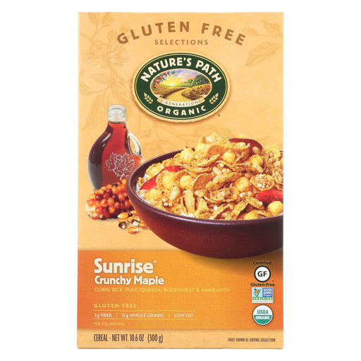 Nature's Path Crunchy Maple - Sunrise - Case Of 12 - 10.6 Oz.
