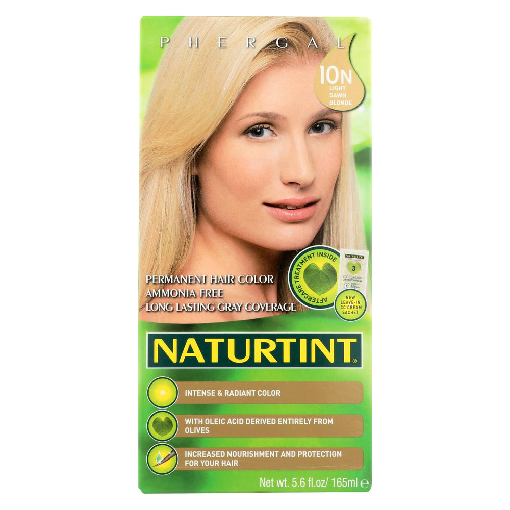 Naturtint Hair Color - Permanent - 10n - Light Dawn Blonde - 5.28 Oz