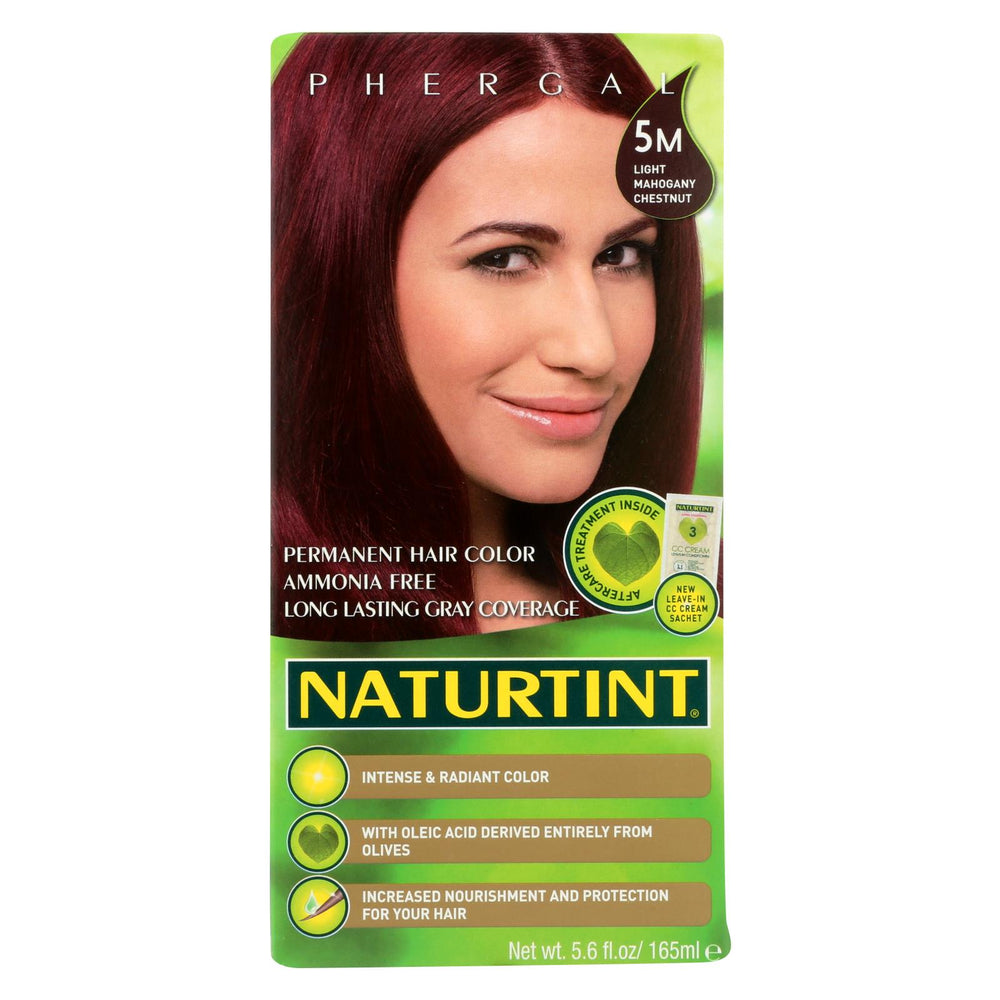 Naturtint Hair Color - Permanent - 5m - Light Mahogany Chestnut - 5.28 Oz
