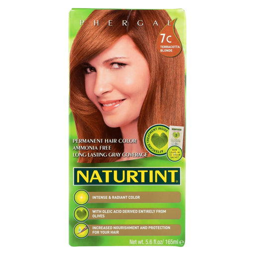 Naturtint Hair Color - Permanent - 7c - Terracotta Blonde - 5.28 Oz