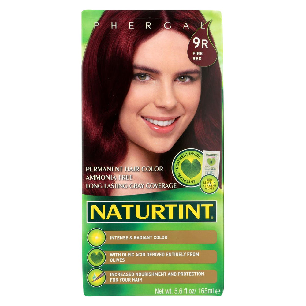 Naturtint Hair Color - Permanent - 9r - Fire Red - 5.28 Oz