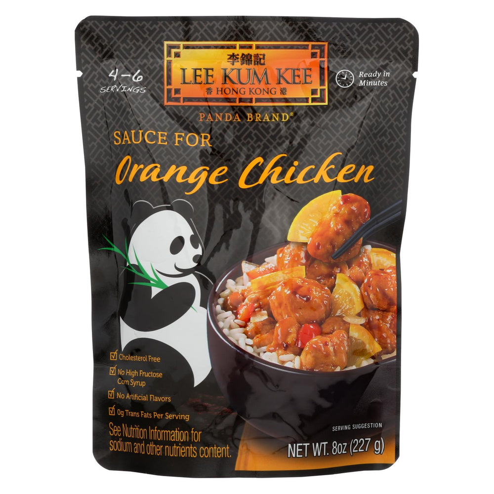Lee Kum Kee Sauce - Ready To Serve - Orange Chicken - 8 Oz - Case Of 6