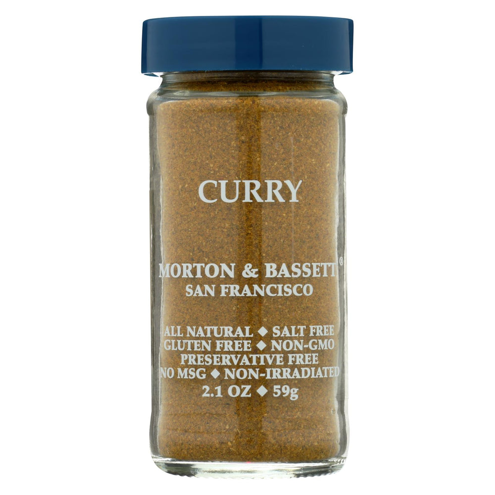 Morton And Bassett Seasoning - Curry Powder - 2.3 Oz - Case Of 3