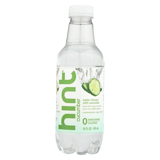 Hint Cucumber Water - Cucumber - Case Of 12 - 16 Fl Oz.