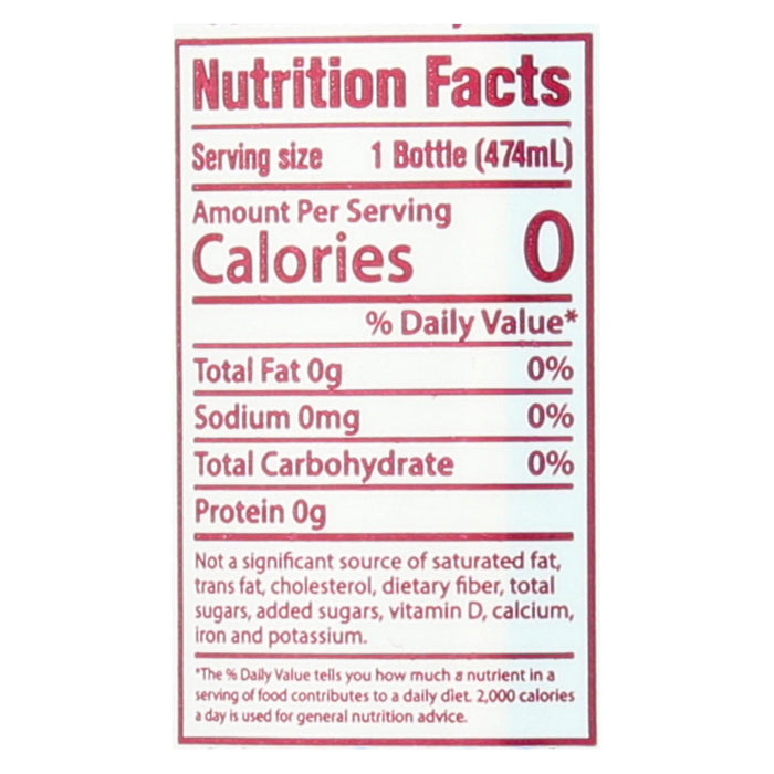 Hint Raspberry Water - Raspberry - Case Of 12 - 16 Fl Oz.
