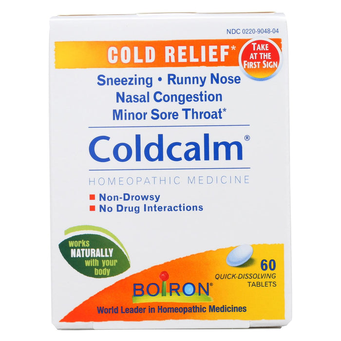Boiron Coldcalm Cold - 60 Tablets