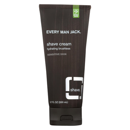 Every Man Jack Shave Cream - Sensitive Skin - Fragrance Free - 6.7 Oz